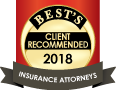 Best's Client Recommended Insurance Attorneys 2018